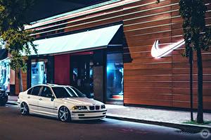 Фотография BMW Бренд Белый Улица 323 E46 nike Автомобили