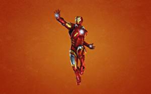 Фотографии Герои комиксов Железный человек герой Доспехи Фантастика