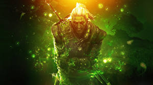 Фото The Witcher The Witcher 0: Assassins of Kings Мужчины Воины Броня 0D_Графика Фэнтези