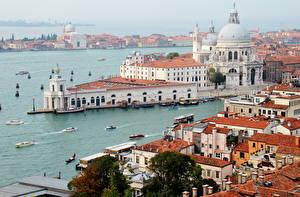 Фото Италия Дома Венеция Сверху Veneto by Andrei Antipin Города