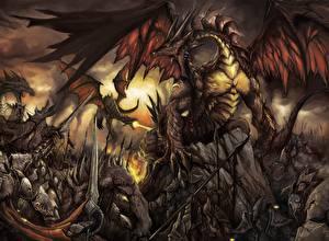 Обои Драконы Фэнтези