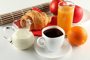 Обои Напитки Кофе Молоко Сок Апельсин Чашка Кувшины Стакан Продукты питания