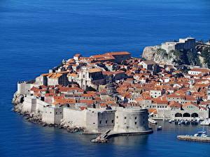 Фотография Хорватия Здания Дубровник Города