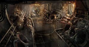 Фотографии Dead Space Dead Space 0 Fan ART Игры Фэнтези