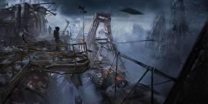 Фото Dead Space Dead Space 0 Катастрофы Fan ART Фантастика Фэнтези