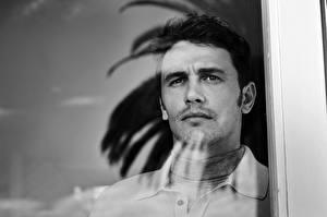 Картинки Джеймс Франко Мужчины Стекло Смотрят Окно