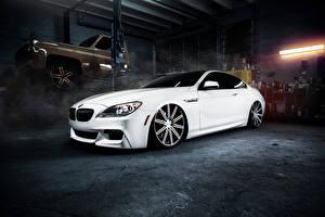 Фото БМВ Белый M6 Автомобили