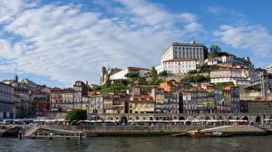 Фото Португалия Здания Порту