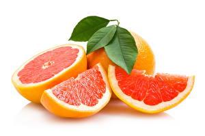Картинка Фрукты Цитрусовые Грейпфрут Еда