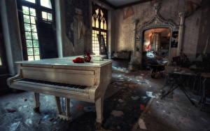 Фотографии Фортепиано Старый Комната