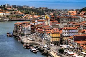 Картинки Португалия Здания Портус Кале