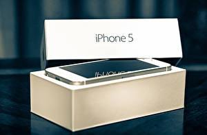 Фотография Apple Айфон Телефоном Смартфоны 5