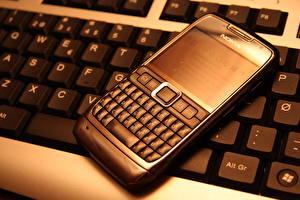 Фотография Крупным планом Клавиатура Телефон e71