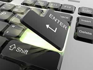 Обои Клавиатура Компьютеры