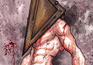 Фото Silent Hill Чудовище Кровь Фэнтези