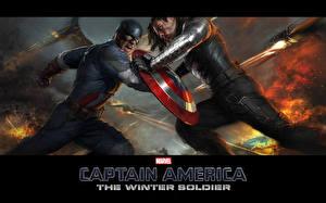 Картинка Герои комиксов Капитан Америка герой Щит Фэнтези