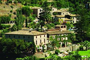 Обои Испания Здания Мальорка Майорка Balearic Islands Города