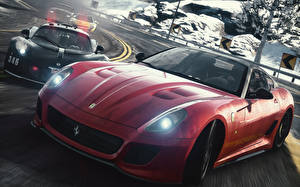 Фотографии Need for Speed The Rivalry Begins Автомобили 3D_Графика