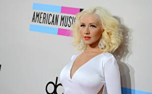 Обои Christina Aguilera Блондинка Музыка Знаменитости Девушки фото