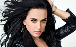 Фото Katy Perry Волосы Брюнетка Смотрит Лицо Знаменитости Девушки