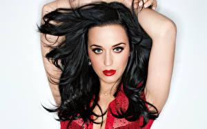 Обои Katy Perry Волосы Брюнетка Взгляд Лицо Музыка Знаменитости Девушки фото