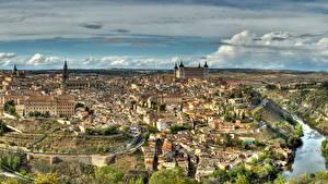 Обои Испания Здания Толедо