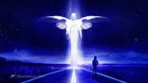 Картинка Ангелы Дороги Sick Individuals Музыка Фэнтези