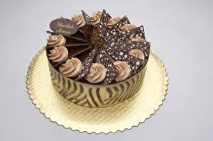 Обои Сладости Торты Шоколад Цветной фон Еда