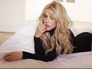 Фотография Shakira Блондинка Волосы Музыка Девушки Знаменитости