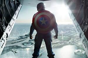 Картинки Первый мститель Герои комиксов Капитан Америка герой Щит Кино