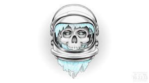 Фотографии Черепа Шлем Dead Astronauts