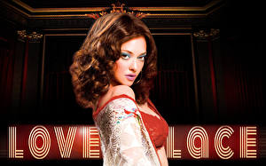 Фотография Аманда Сэйфрид Шатенки Lovelace кино Знаменитости