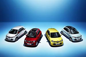 Картинки Рено Много 2014 Twingo Автомобили