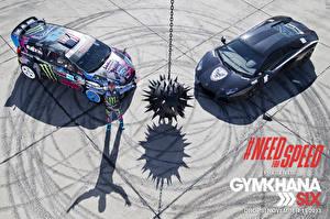 Фотографии Need for Speed Мужчины Ken Block Игры