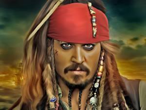 Фотографии Пираты Карибского моря Johnny Depp Пираты Лица jack sparrow Фильмы Знаменитости