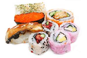 Обои Морепродукты Суши Икра