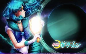 Фотографии Sailor Moon Планета Sailor Neptune Аниме Девушки
