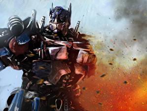 Обои Трансформеры Робот Optimus Prime Фильмы Фэнтези