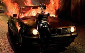 Обои Пламя БМВ The Girl Who Played with Fire кино Девушки Знаменитости