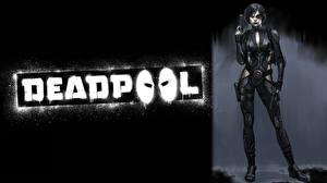 Фото Герои комиксов Deadpool герой domino Девушки