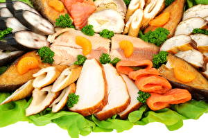 Картинка Морепродукты Рыба Пища