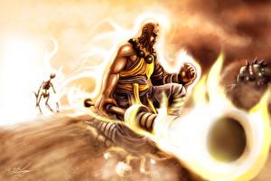 Фотография Diablo Diablo III Магия Воители Компьютерная игра Фантастика Фэнтези