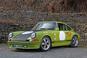 Фотография Порше Тюнинг Салатовая Металлик 2014 DP Motorsport 964 Classic S (based on Porsche 911 964 Carrera) Автомобили