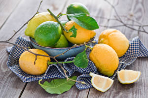 Фотография Лимоны Цитрусовые