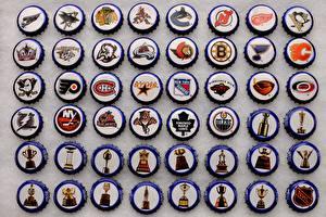 Картинки Хоккей Логотип эмблема NHL