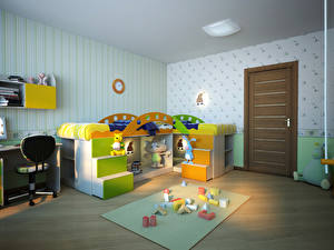 Фотографии Интерьер Игрушки Детская комната Дизайн Комната
