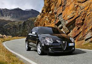 Фото Alfa Romeo Дороги Черный Металлик 2014 MiTo Машины