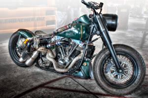 Обои Harley-Davidson Кастомайзинг HDR Мотоциклы фото