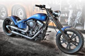Обои Кастомайзинг HDR Erbacher Мотоциклы фото