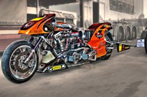 Обои Кастомайзинг HDR Мотоциклы фото